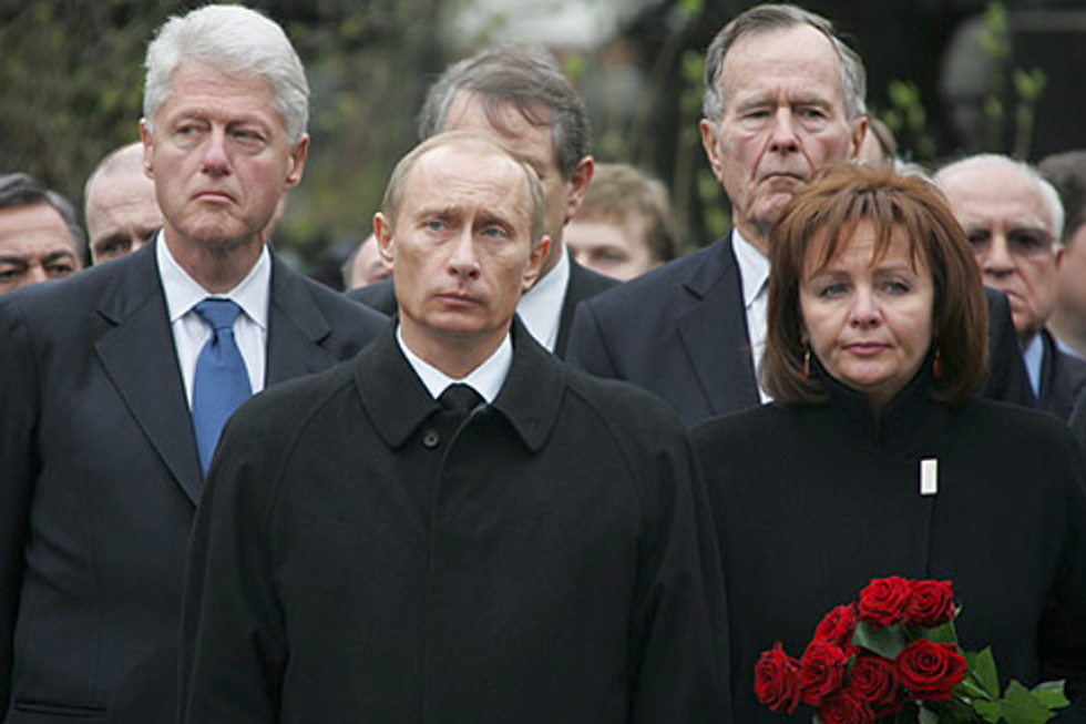 'He could get squishy on democracy': Bill Clinton's perception of Vladimir Putin according to recently released public documents