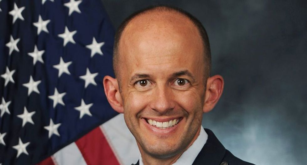 Is a senior Air Force general using his power to spread far-right Christian nationalism?
