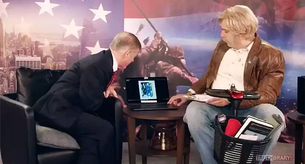 WATCH: Sacha Baron Cohen dupes Howard Dean into arguing whether Hillary Clinton is really a woman