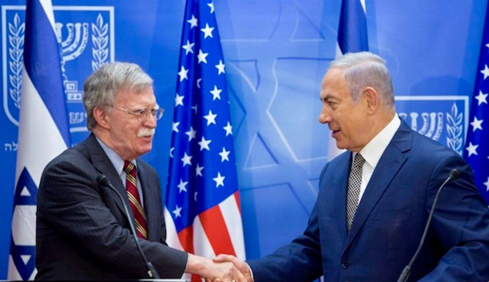 Netanyahu and Bolton discussions focus on Iran nuclear program