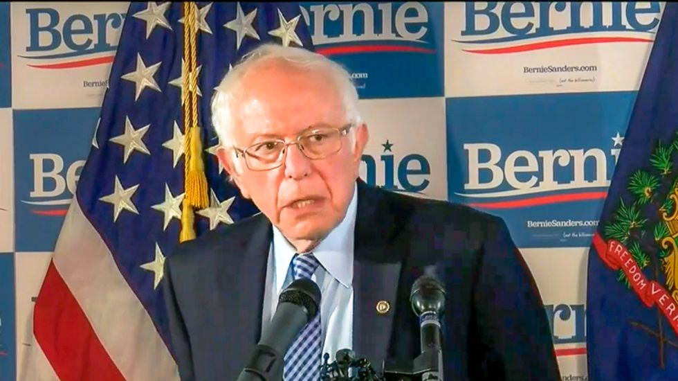 WATCH LIVE: Bernie Sanders holds defiant presser refusing to drop out after Tuesday losses