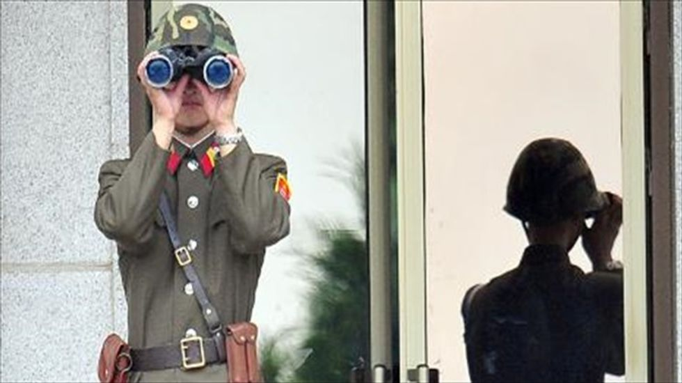 North Korea holds live-fire drill on maritime border