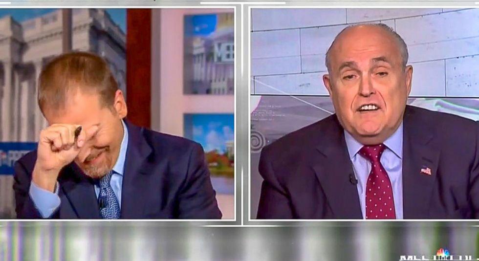 'Truth isn't truth': Rudy Giuliani has an epic meltdown over Trump testifying