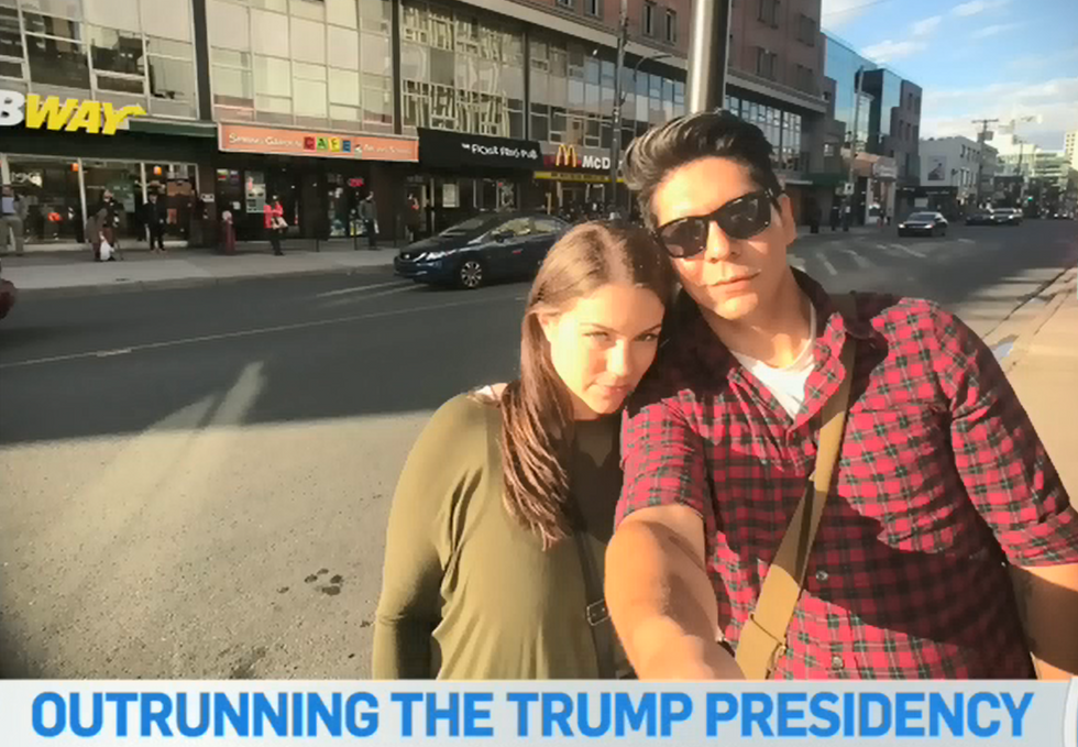 American couple 'afraid' of Trump presidency fleeing to Canada for a 'better quality of life'