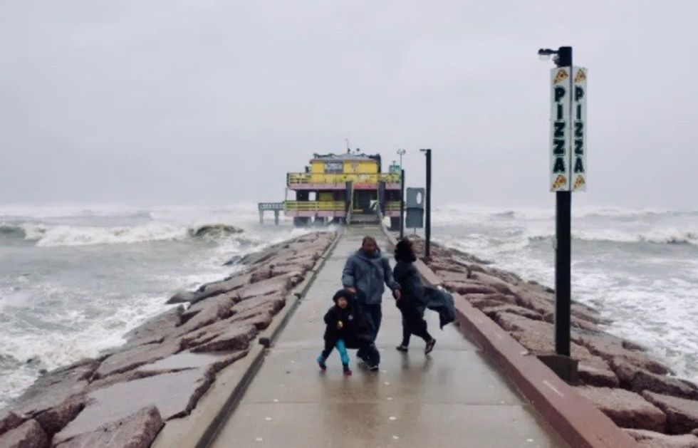 Hurricane Delta bears down on storm-battered US south coast