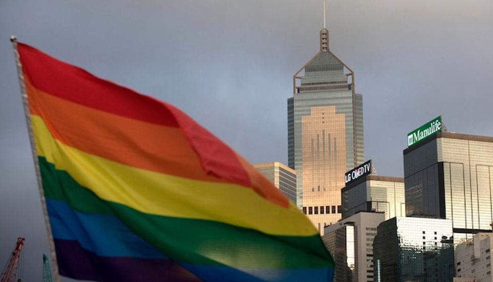 Hong Kong's public housing ban on married gay couples unlawful: court