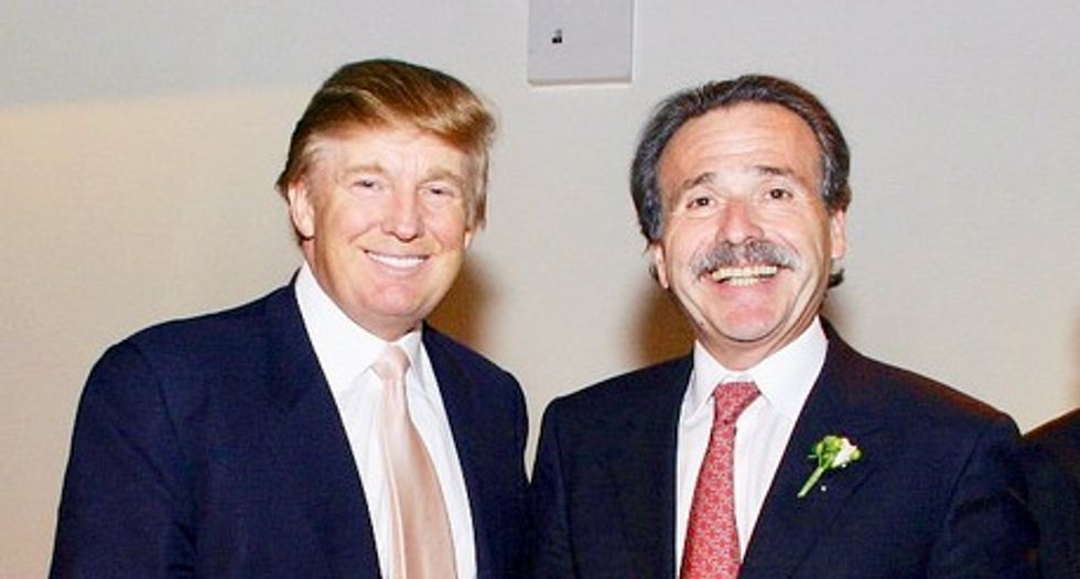 A look at Trump and National Enquirer boss David Pecker's close relationship