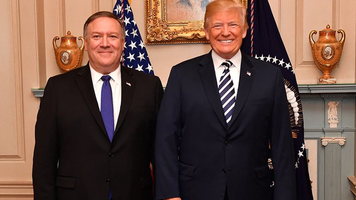 Mike Pompeo is desperately trying to co-opt Trump
