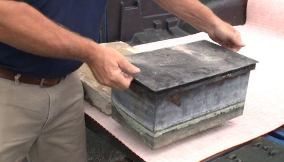 While removing a Confederate monument, workers uncovered a piece of history hidden inside