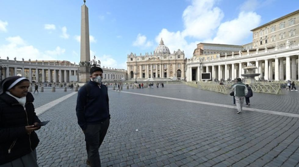 Vatican reports its first coronavirus case