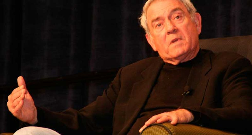 Dan Rather slams Trump's immigration speech as 'a toxic mix of jingoism, nativism, and chauvinism'