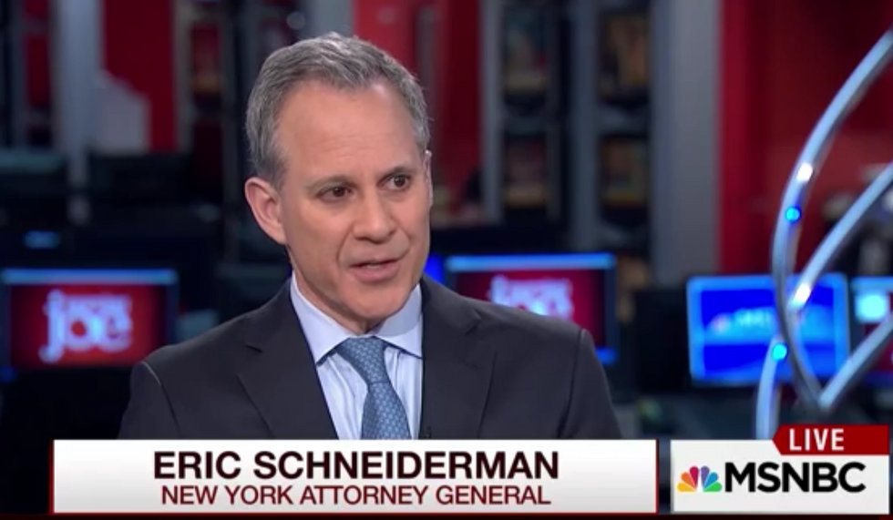 'This is straight up fraud': New York's attorney general shreds Trump University on 'Morning Joe'