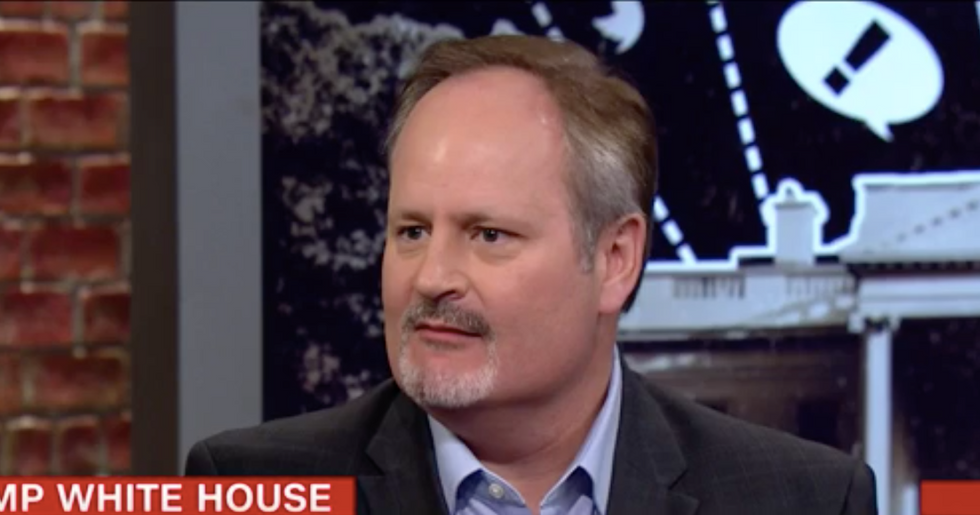 Trump's biographer says his Twitter flailing isn't a grand distraction scheme because he's not smart enough for that