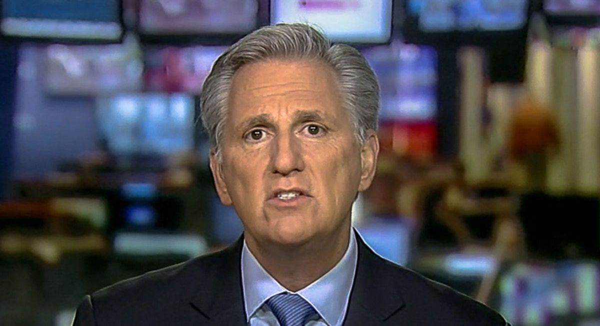 'Pathetic' Kevin McCarthy torn to shreds by Morning Joe co-hosts: 'He's afraid of a back-bench congresswoman'