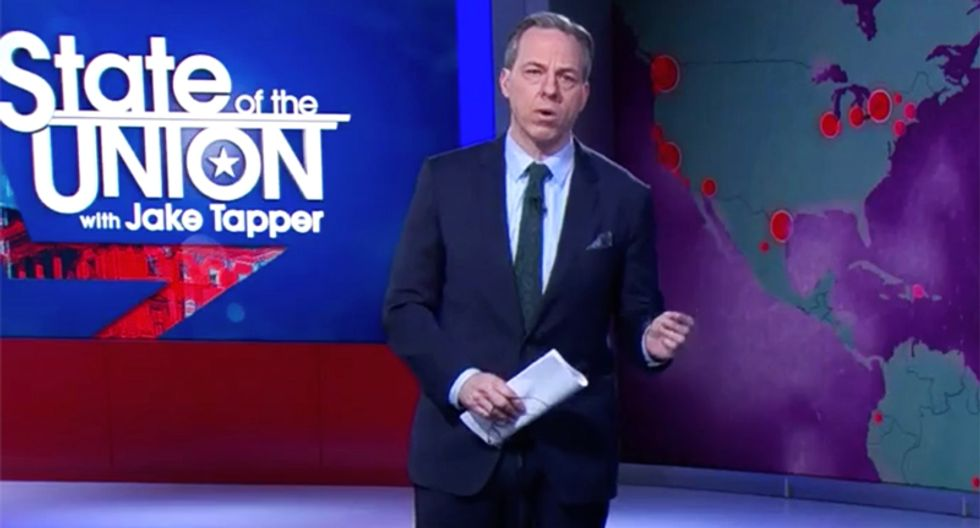 CNN's Tapper calls out Trump's 'never-ending cascade' of lies about virus spread in blistering closing statement