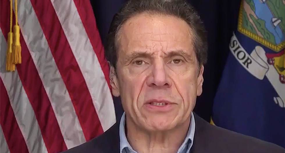 New York governor rips Trump's CDC for holding them back from doing their own testing