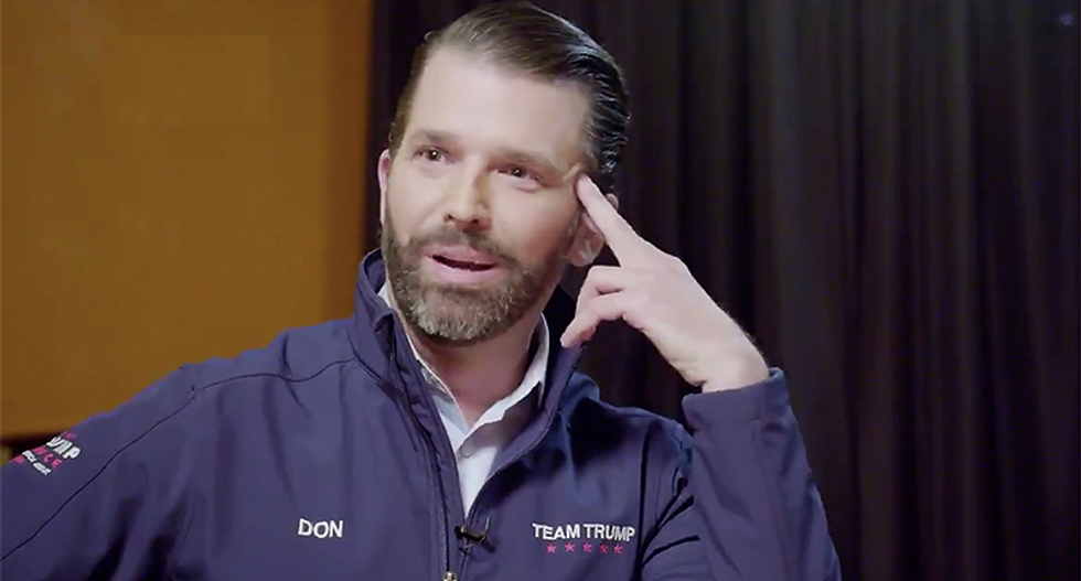 Donald Trump Jr walloped for trying to smear woman who gave husband fish tank cleaner