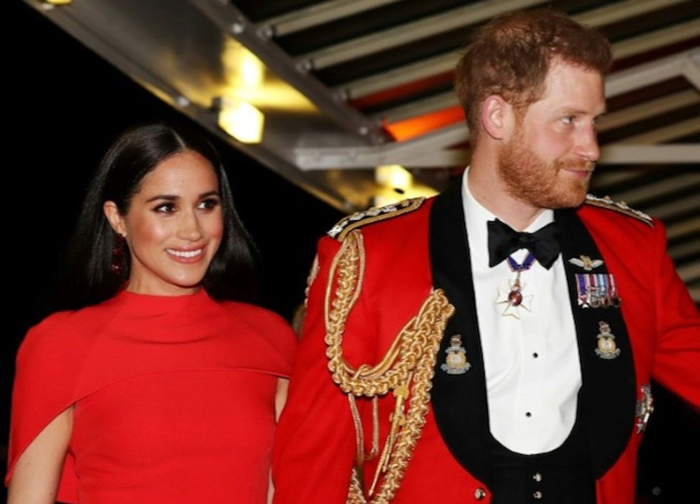 One last event before Harry and Meghan bow out