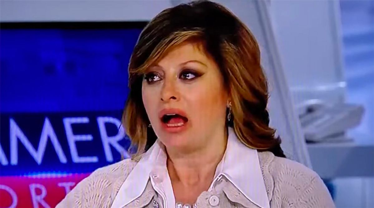 Fox's Maria Bartiromo blasted for claiming Democrats 'infiltrated' Capitol wearing MAGA clothing
