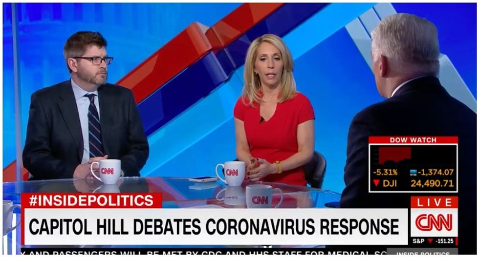 Trump is making coronavirus outbreak all about himself as he privately whines to aides: CNN