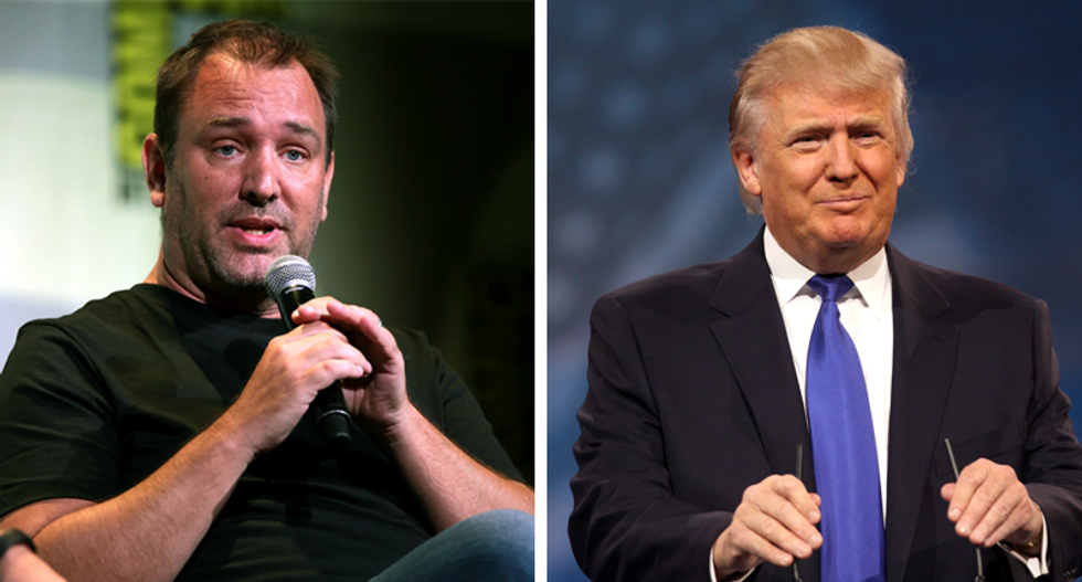'South Park' co-creator Trey Parker: Trump is using our 'outrageous' tools to get a rise out of people