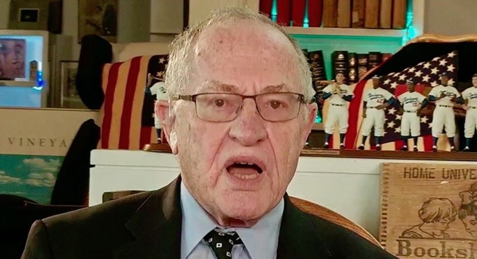 Law professor who studied under Alan Dershowitz shreds his 'shockingly wrong' case against impeaching Trump