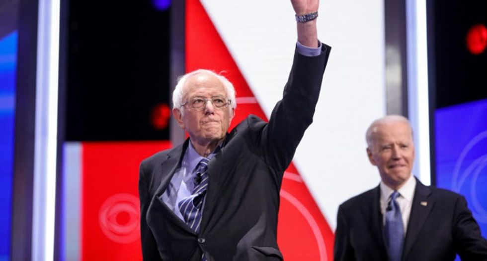 Bernie Sanders 'having conversations' to 'assess his campaign' after Biden clean sweep