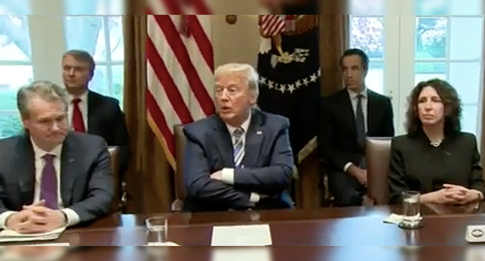 WATCH: Trump snaps at CNN's Acosta for asking about health officials contradicting his coronavirus claims