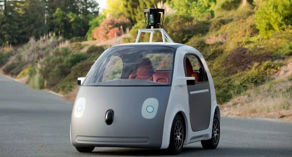 Autonomous vehicles can be fooled to 'see' nonexistent obstacles