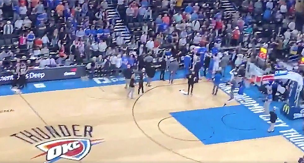NBA suspends all basketball games -- after OKC Thunder vs. Jazz delayed from player illness