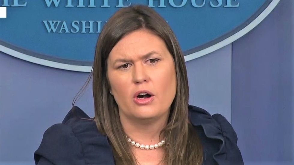 Sarah Sanders struggles to explain away Trump hiring convicted felons as she's grilled over Cohen and Manafort