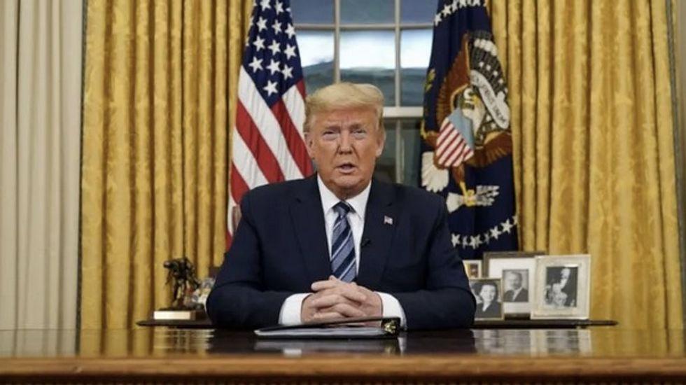 Trump triggers market rupture with European flight ban