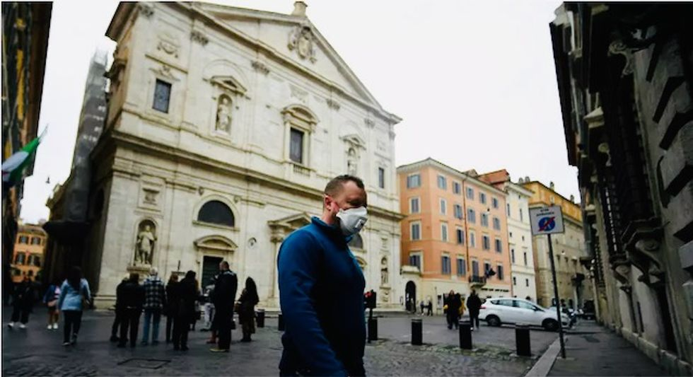 Coronavirus death toll in Italy overtakes China's after rising to 3,405