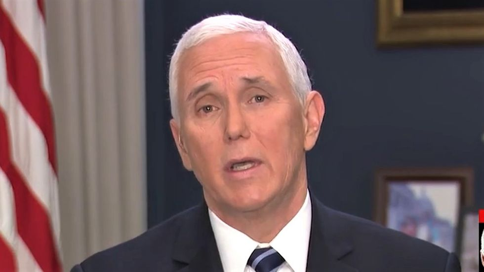 Mike Pence has been unflinchingly loyal to Trump -- and now it's coming back to haunt him: report