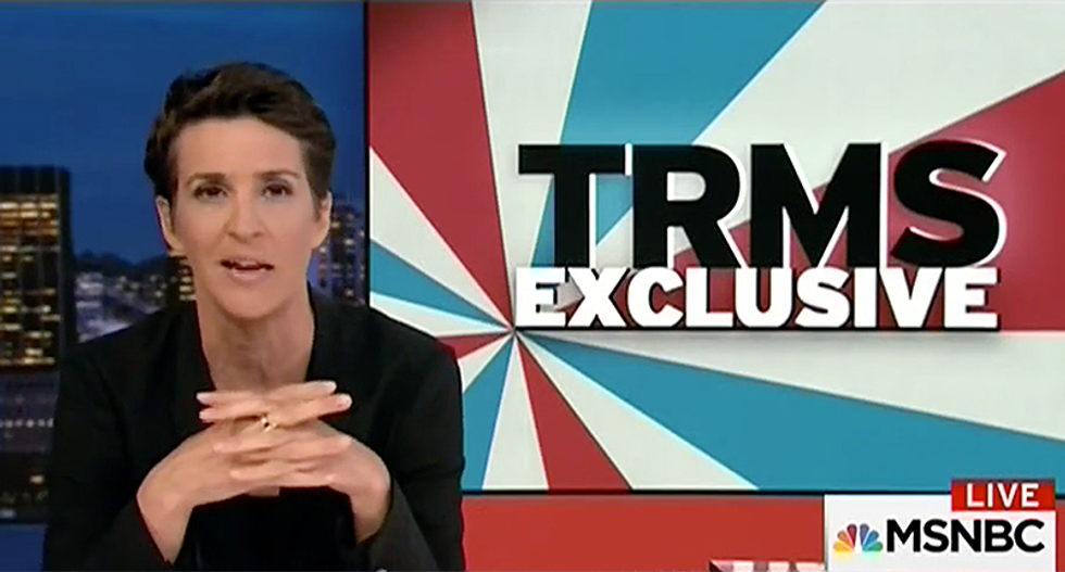 'We're on resignation watch': Maddow explains why 'in normal times' Sessions would be out after Trump's criticism