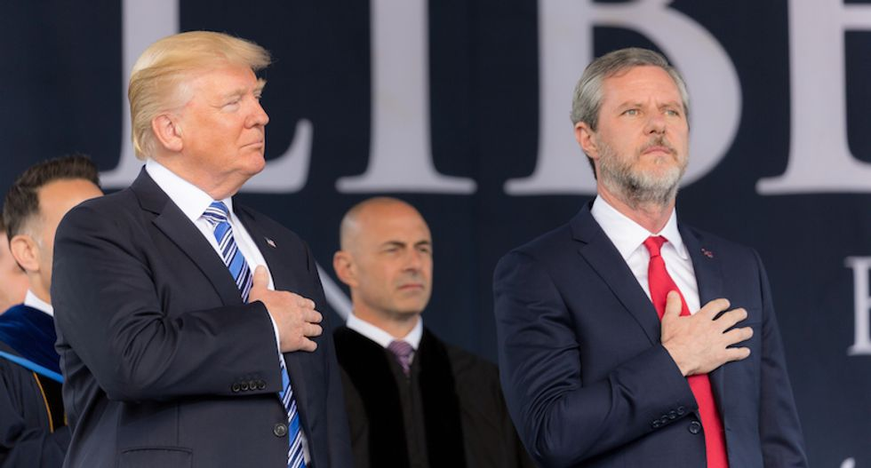 The bizarre evangelical thinking that provides Trump with a firewall of protection