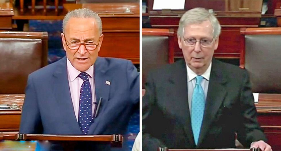 Schumer rips McConnell as 'remarkably irresponsible' for sending Senate home without passing Coronavirus Response Act
