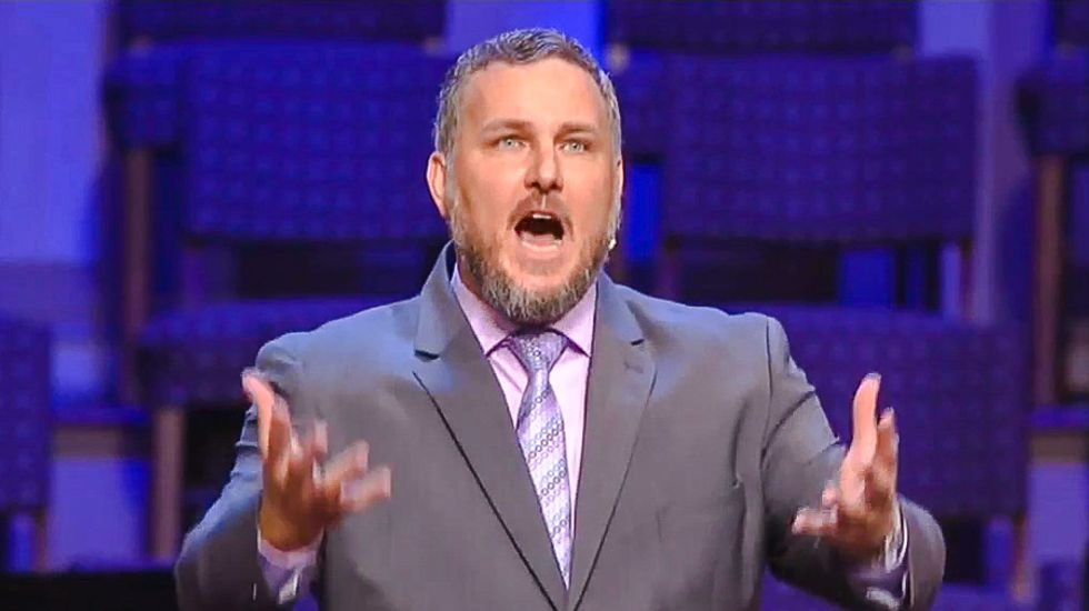 South Carolina pastor bizarrely claims 'the only atheists in the world live in America and Europe'