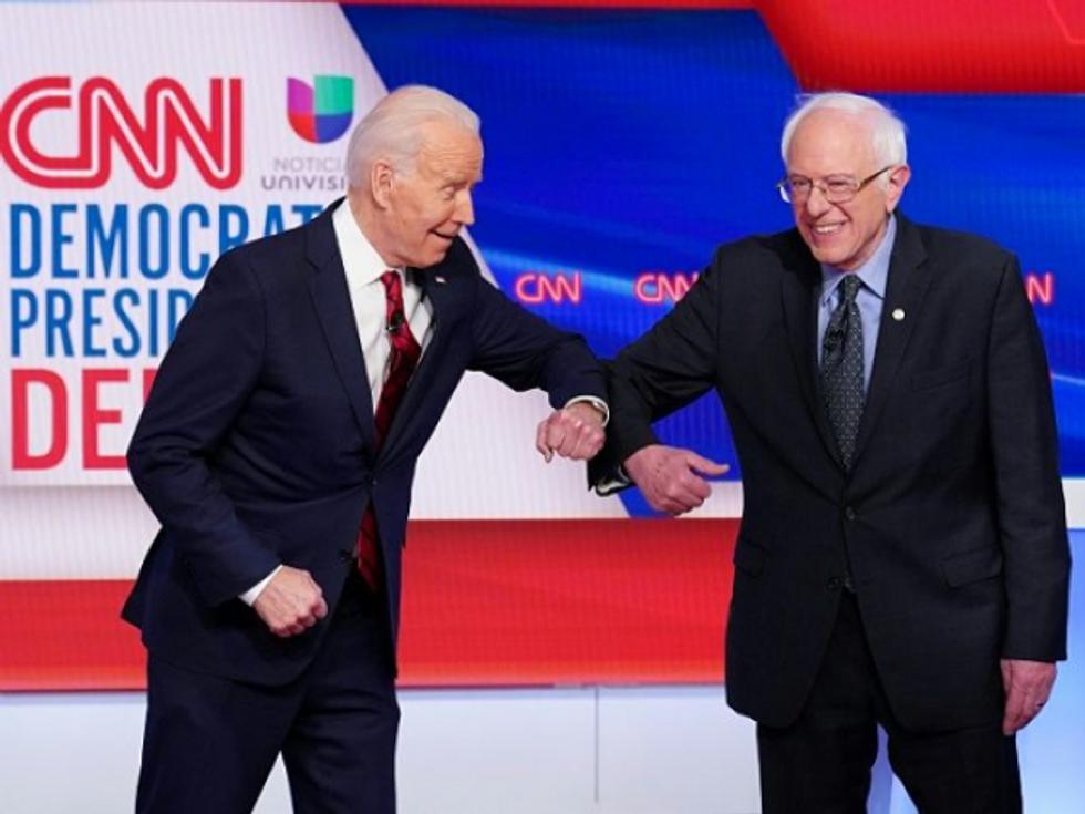 Bernie Sanders takes a swipe at 'Bernie or Bust': Refusing to vote for Joe Biden is 'irresponsible'