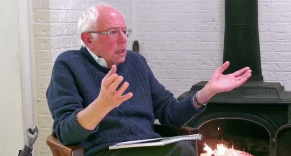 Bernie Sanders mocks claims alleging the 'Deep State' sabotaged his presidential campaign