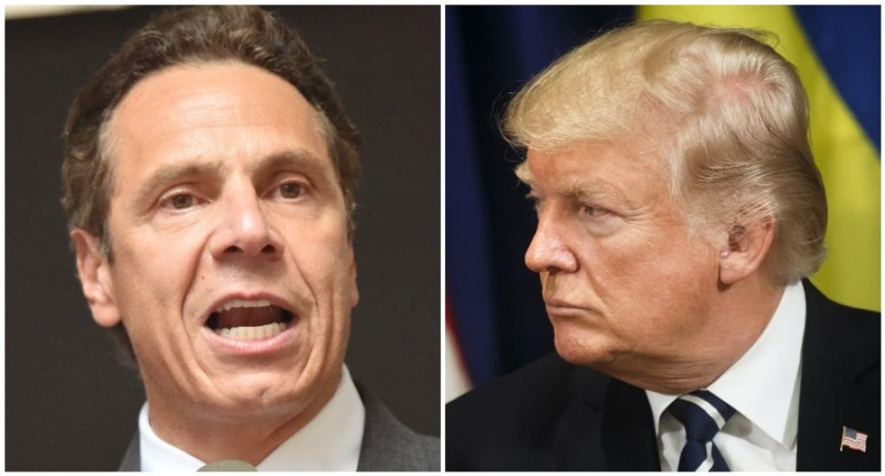 'Tough guy' Trump has met his match in Andrew Cuomo: conservative columnist