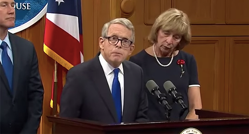 Ohio Gov shuts down in-person voting -- and urges the primary election be moved to June