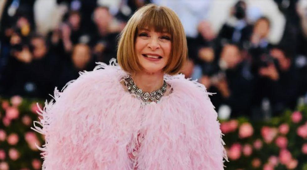 Vogue's Anna Wintour postpones Met Gala, endorses Biden