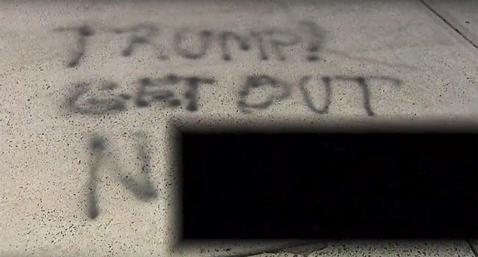 'Get out n******': Immigrant doctors awaken to Trump-fueled racist graffiti on South Carolina home