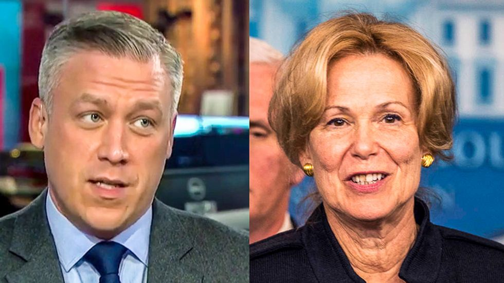 MSNBC science analyst destroys Trump official Deborah Birx for telling 'opposite' of truth on faulty CDC tests