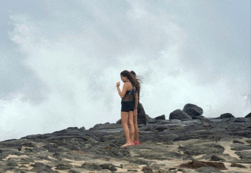 Tropical Storm Lane heads away from Hawaii islands