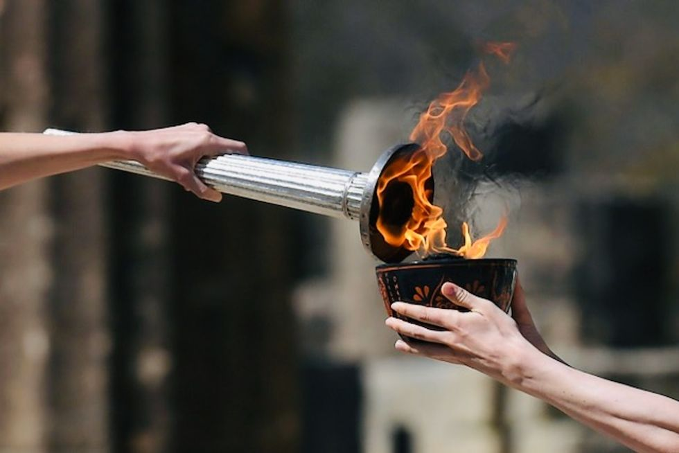 'Heartbreaking': Olympic torch events downscaled over virus