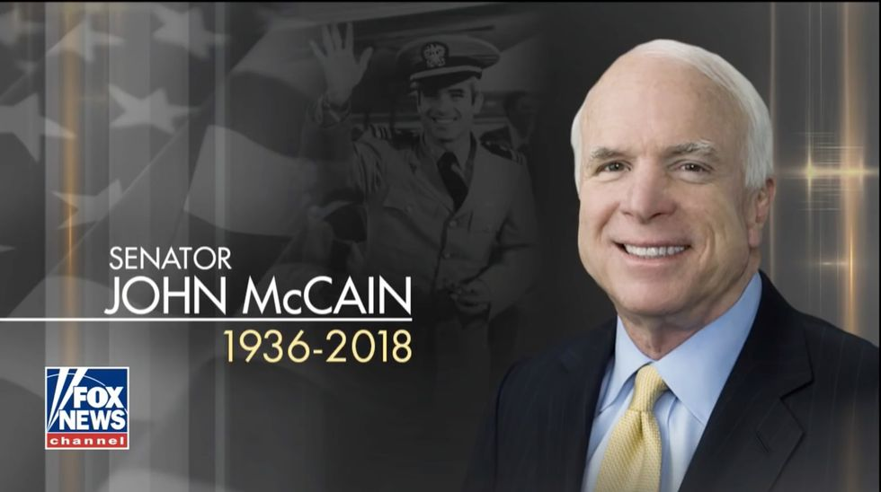 Fox News disables comments for all YouTube videos about McCain's death after followers ruthlessly smear him
