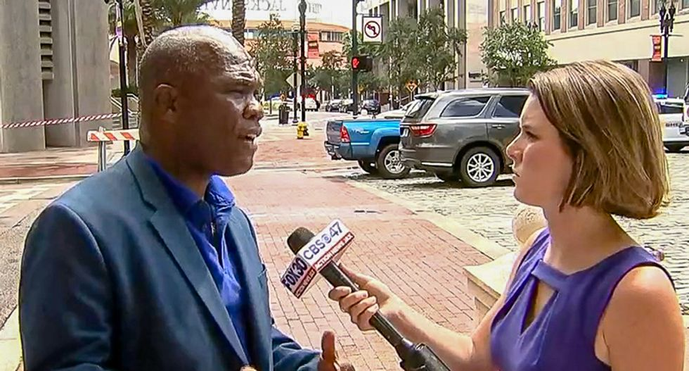 Jacksonville councilman goes off on guns and God at site of gamer shooting: 'This city is under attack'