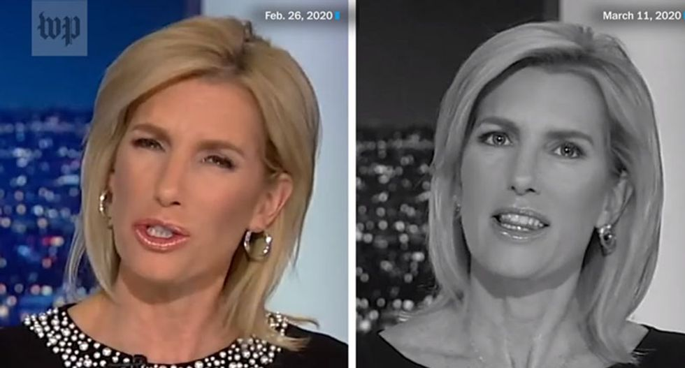 Damning video exposes Fox News' stunning and dangerous hypocrisy on coronavirus